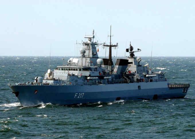 Китай відмовився пустити військовий корабель Німеччини до свого порту